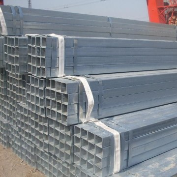 25*50mm Pre Galvanized Steel Tube Hollow Section Type