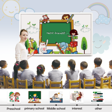 86 inches Smart LCD Display for Presentation