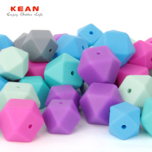 Ordinary Discount Best price for Hexagon Teething Beads Food Grade Silicone Beads for Teething supply to India Manufacturer