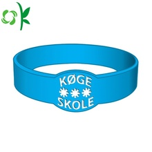 Customized for Custom Silicone Bracelets Special-shape Custom Promotional Gifts Silicone Wristband supply to Italy Manufacturers