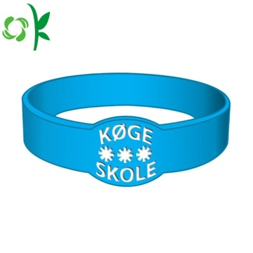 Special-shape Custom Promotional Gifts Silicone Wristband