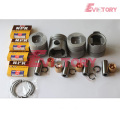 ISUZU engine parts piston 4BC1 piston ring