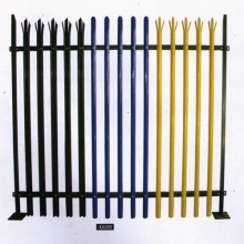 steel ornamental palisade wrought iron fence