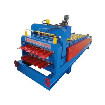 Metal Glazed And Trapezoidal Roof Panel Machine