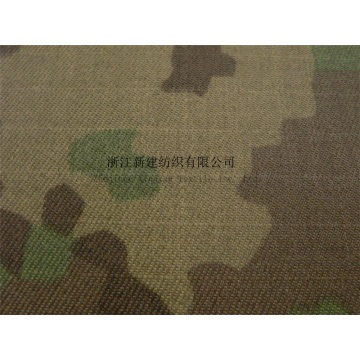 Waterproof Nylon Cordura Camouflage Pu Coated Fabric