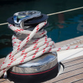 14mm 16-strand double braided polyester marine rope Dock line