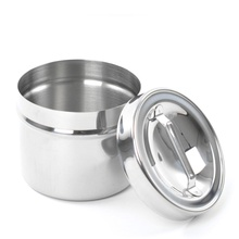OEM manufacturer custom for Medical Instruments Stamping Moulds Hospital Medical Stainless Steel Dressing Jar with Knob supply to Greenland Factory