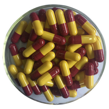 empty hpmc capsules red-black capsule HALAL