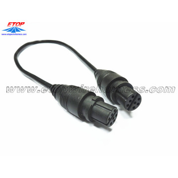 New Fashion Design for China Molded Waterproofing Cable Assemblies,Waterproof Wire Harness Manufacturer and Supplier 7pin molded waterproof cable export to Germany Importers
