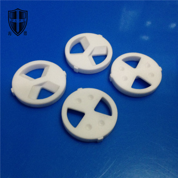 alumina ceramic circular orifice wafer disc