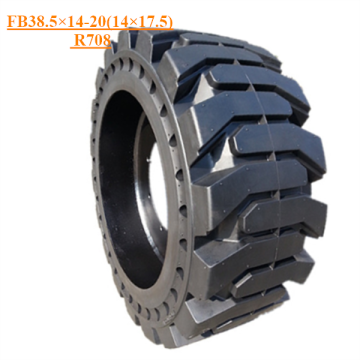 Solid Skid Steer Tire FB38.5×14-20 (14×17.5) R708