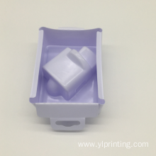 Customized Supplier for China PS Blister Packaging Tray,PS Flocking Blister Trays,PS Electronics Blister Tray Manufacturer and Supplier vacuum formed packaging white plastic blister tray supply to Hungary Factory