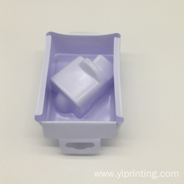 newest designed disposable white plastic blister trays