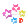6st Star Plastic Cookie Cutters