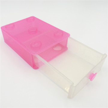 gift ABS clear plastic boxes for jewelry
