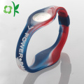 Customized Silicone Power Energy Wristband for Promotion