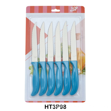 6 piece kitchen steak knives set