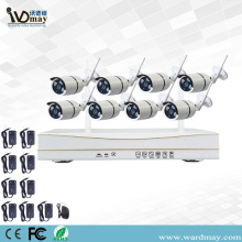 8CH 1.0/2.0MP Home Security Wifi NVR Kits