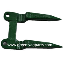 Factory source manufacturing for Sickle section H61954 2 Prong guard used on John Deere export to France Metropolitan Manufacturers
