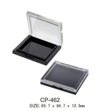 Square Cosmetic Compact with Clear Lid