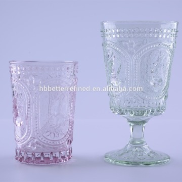 OEM for Glass Carafe Embossed Bunny Drinking Glass Tumbler For Easter export to Guam Manufacturers