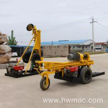 China for Air Compressor Stone Drilling Machine DTH borehole water well  drilling rig supply to Spain Suppliers