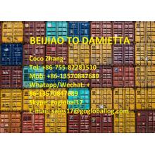 Best quality and factory for Africa Shipping Line Shunde Beijiao Sea Freight to Egypt Damietta export to Spain Manufacturer