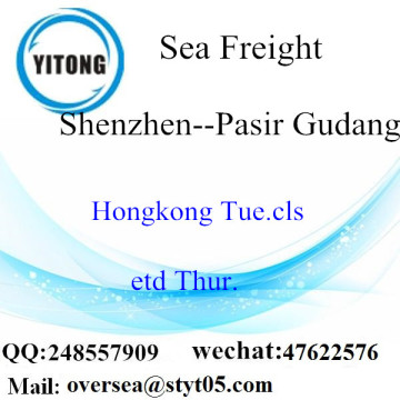 Shenzhen Port LCL Consolidation To Pasir Gudang