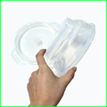 Transparent Leakproof Silicone Collapsible Lunch Box