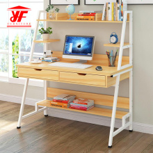 Modern professional computer table with bookshelf