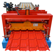 Glazed Tile Color Steel Roll Forming Machine