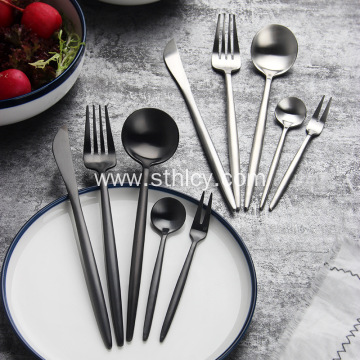Wholesale Restaurant Stainless Steel Cutlery Flatware Silve
