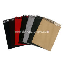Best Quality for Cashmere Underwear And Cashmere Blanket Raw Edge Woolen cashmere scarf export to Vietnam Exporter