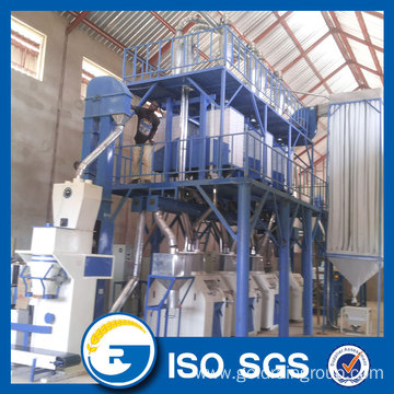 Full Automatic Maize Flour Milling Machine