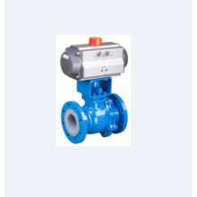 Pneumatic O Type Cut Ball Valve
