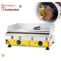 Electric chromium steel griddle with CE