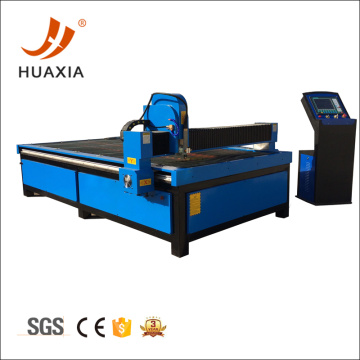 High precision plasma cutting machine for steel metal
