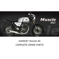 HANWAY MUSCLE 50 Complete Motorcycle Spare Parts