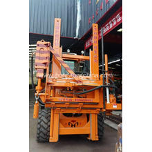 Highway Wave Guardrail Installation Machine