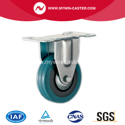 3'' Rigid Grey Rubber caster