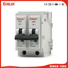 10ka Plug-in Mini Circuit Breaker 1P,2P,3P,4P  6A-63A MCB