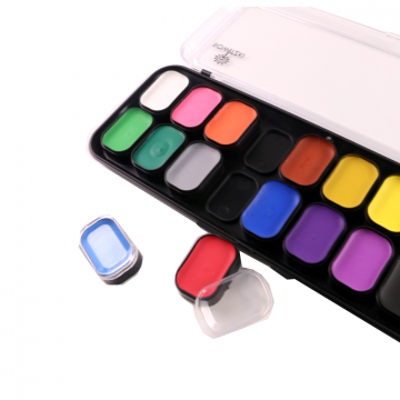 Private Label 18 colors Body Face paint Kit