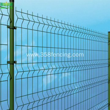 Powder Coated 3d Welded Wire Mesh Fence