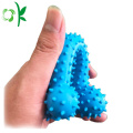 Dog Bone Ball Safe Training Silicone Pet Toys
