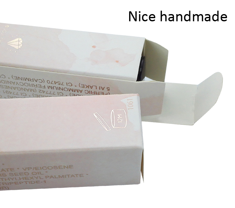 Free blank paper box sample with customized size