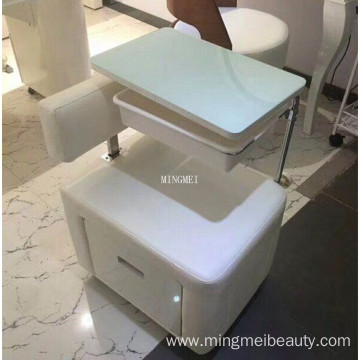 Salon nail furniture small single manicure table