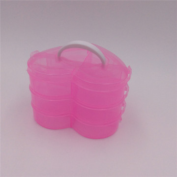 handle heart plastic canvas jewelry boxes