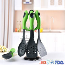 OEM for Nylon Untensils Set,Nylon Utensils,Cooking Tools Set Manufacturers and Suppliers in China Best heat resistant utensils kitchen cooking tool set export to Portugal Suppliers