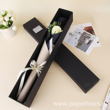 Customized Elegant Cardboard Gift Packaging Boxes For Flower