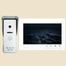 Wired home door camera intercom